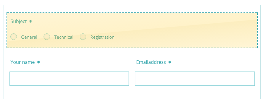 Advanced email delivery - form